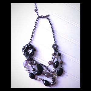 New York & Company Black Necklace